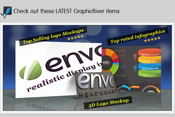 Check out these latest GraphicRiver items